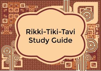 Rikki-tikki-tavi Study Guide