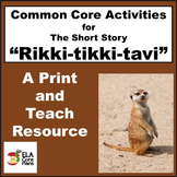 Rikki-tikki-tavi Activities, Handouts, Lesson Plans