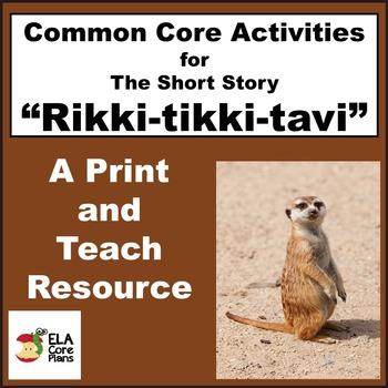 Rikki Tikki Tavi Activities Handouts Lesson Plans