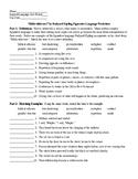 Rikki-tikki-tavi by Rudyard Kipling Figurative Language Worksheet and KEY