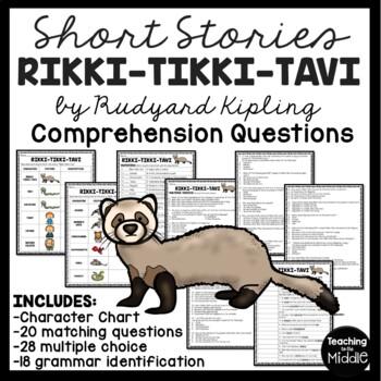 Rikki-tikki-tavi comprehension questions, folklore, Rudyard Kipling