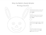Riley the Rabbit's Writing Checklist