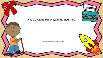 "Riley's ""R"" Matching Game"