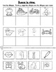 Rimas: Hojas de trabajo para Kindergarten