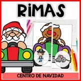 Centro de rimas de Navidad- Lectura en español- Christmas Spanish rhyming