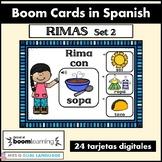 Rimas Spanish Boom Cards Set 2