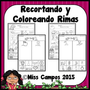 Rimas Spanish Rhyming