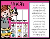 Rimas - Spanish Rhyming Picture Sort