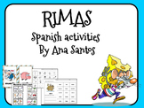 Rimas- Spanish activities