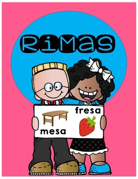 Rimas (Spanish rhyming matching center)