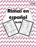 Rimas en Español No.10 / Rhymes in Spanish No.10