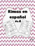 Rimas en Español No.4/ Rhymes in Spanish No.4