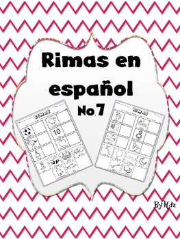 Rimas en Español No.7 /Rhymes in Spanish No.7