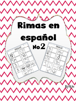 Rimas en Español No.2 / Rhymes in Spanish No.2