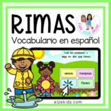 Rimas en español | Find the Rhyming Words in Spanish |  Sp