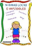 Rimas locas e imposibles en Español, wacky rhymes in Spani