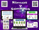 Spanish 465 QR Codes - Rimas y Sonidos, Videos de Rimas - iPad Listening Station