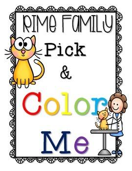 Rime Family Pick & Color Me