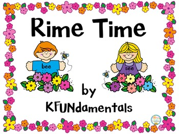 Rime Time: Onset Rimes to Build CVC Words in K, 1st, Special Ed & Homeschool