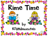 Rime Time: Onset Rimes to Build CVC Words in K, 1st, Speci