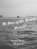 Rime of the Ancient Mariner Close Read