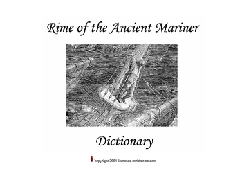 Rime of the Ancient Mariner Dictionary