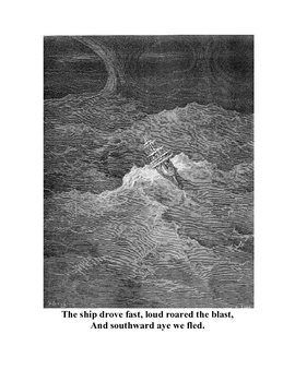 Rime of the Ancient Mariner Dore Print classroom package - part one