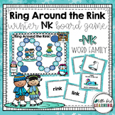 Ring Around the Rink -NK Word Family Board Game