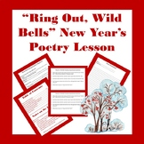Ring Out, Wild Bells New Year's Poetry Lesson