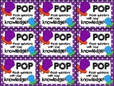 Ring Pop Testing Motivation Treat Tags