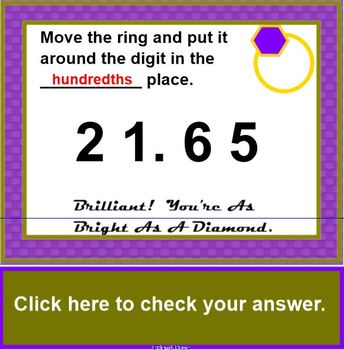 Ring The Value - A Lesson in Place Value