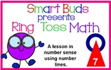 Ring Toss Math with Number Lines SMARTBOARD