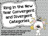 Ring in the New Year Convergent and Divergent Categories