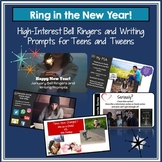 Bell Ringers and Writing Prompts for Teens & Tweens: Ring