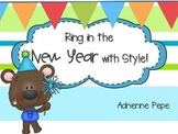 Ring in the New Year: Math and Literacy Centers