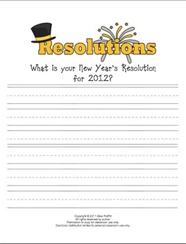 Ring in the New Year! Telling Time...and more activities
