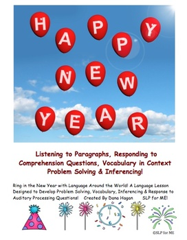 Ring in the New Year with Language Activities Around the World Theme