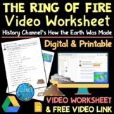 Ring of Fire Documentary Video Worksheet with Free Video Link