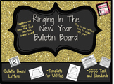 Ringing In The New Year - Bulletin Board- Students Pick a Goal for the Year!