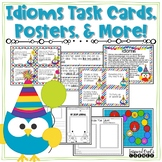 Idioms Posters, Task Cards, and Journal