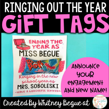 Ringing out the Year: Gift Tags to Celebrate a New Name!