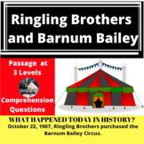 Ringling Brothers and Barnum Bailey Differentiated Reading