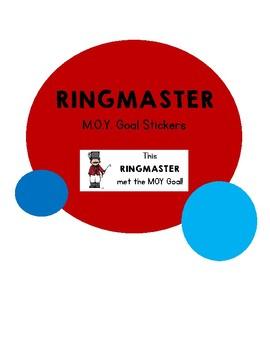 Ringmaster MOY Assessment Goal Stickers