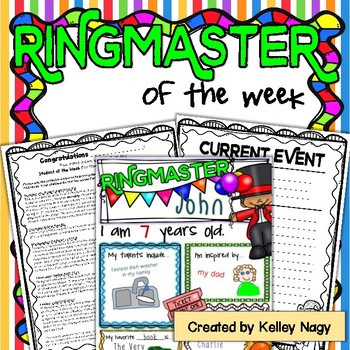 Ringmaster of the Week