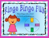 Ringo Bingo Fun: Music Bingo for Pre-K and K