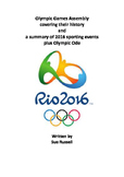 Rio 2016 Olympic Games Class Play including history, events & poem