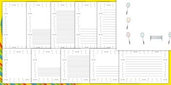 Rio 2016 Olympics Badminton Page Borders