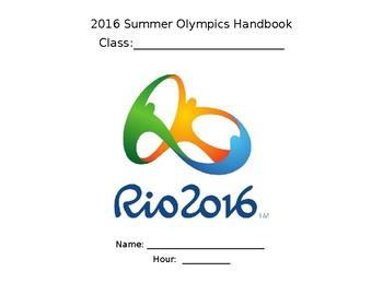 Rio 2016 Olympics Workbook