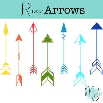 Rio Arrows Clipart