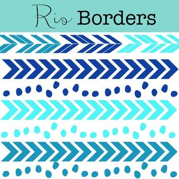 Rio Borders Clipart